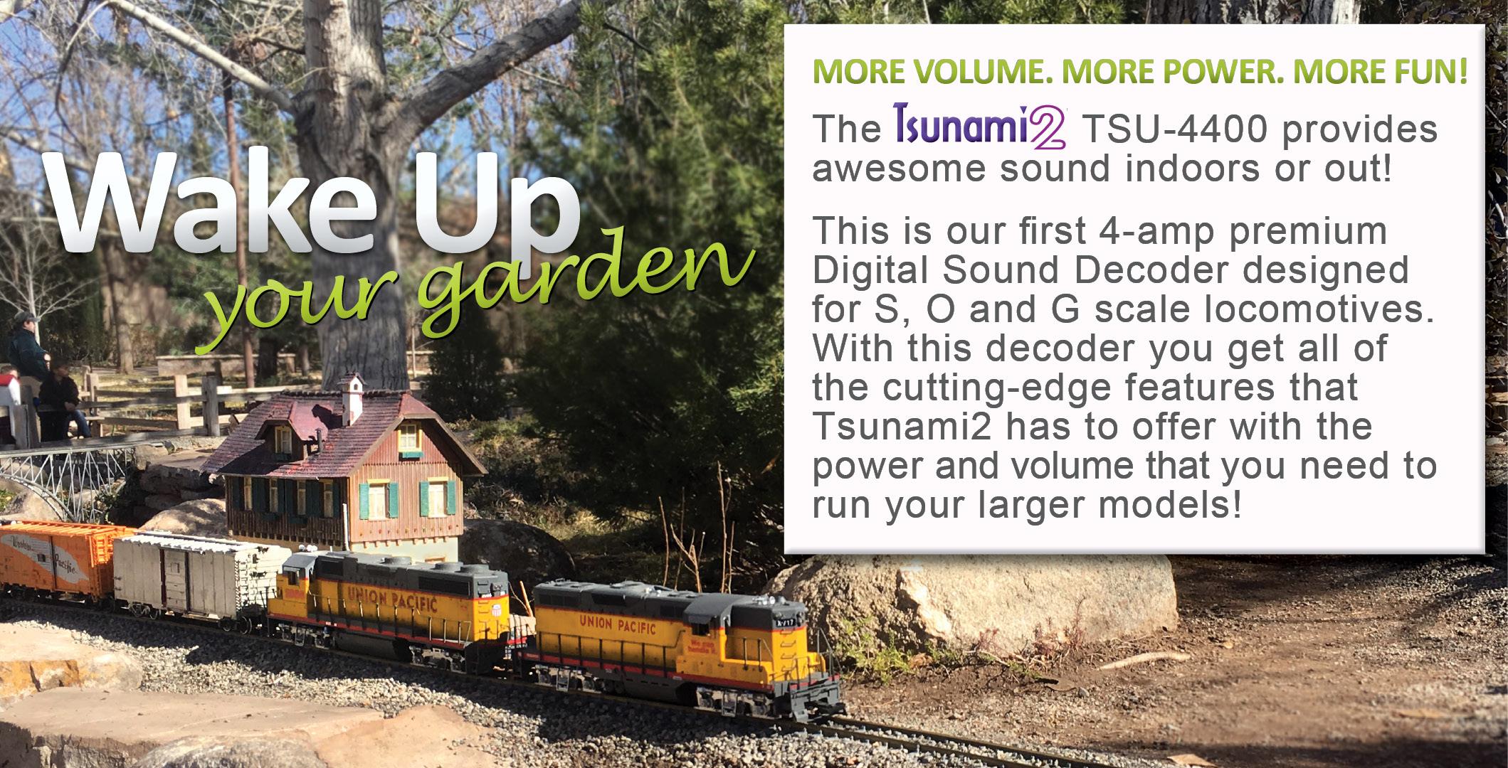 Watch Tsunami2, TSU-4400 in O Scale